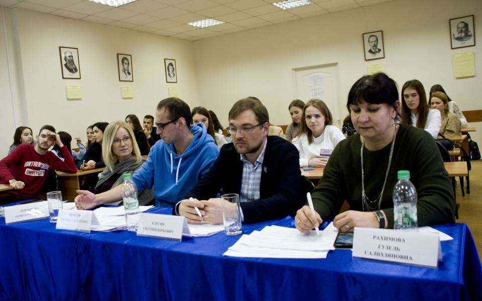 Члены жюри ярмарки бизнес-проектов
