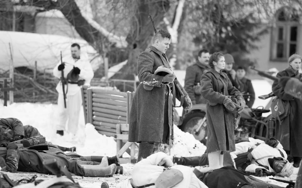 Историческая сцена военной реконструкции