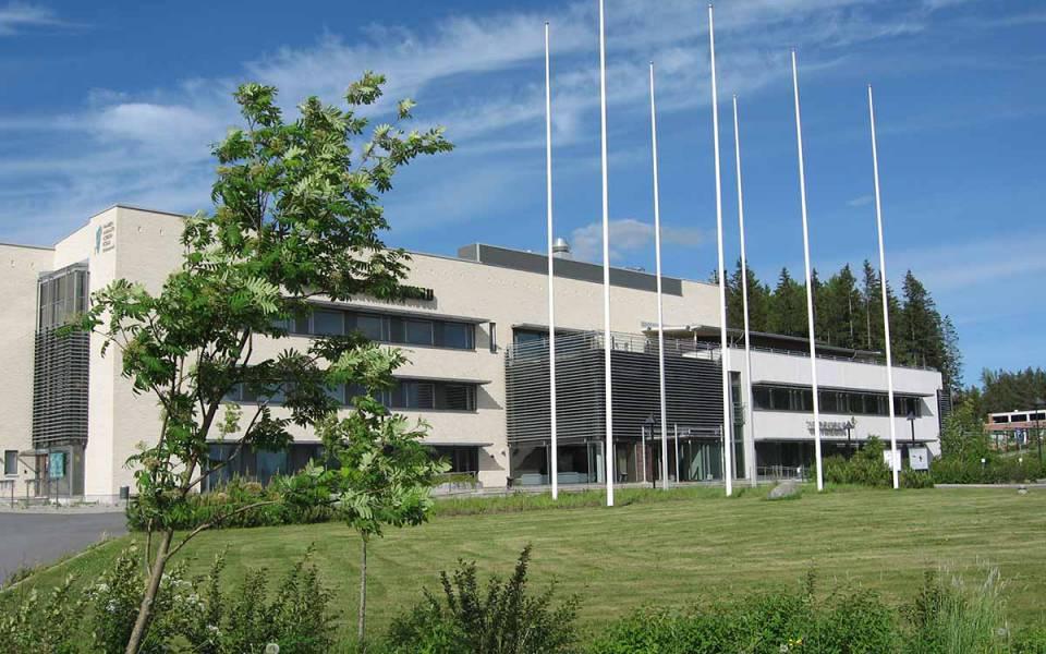 Кампус университета ХАМК