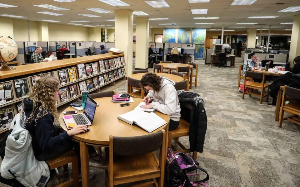 Библиотека ХАМК