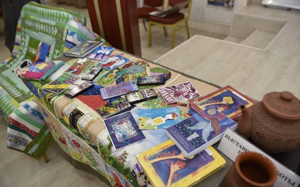 Выставка работ участников проекта