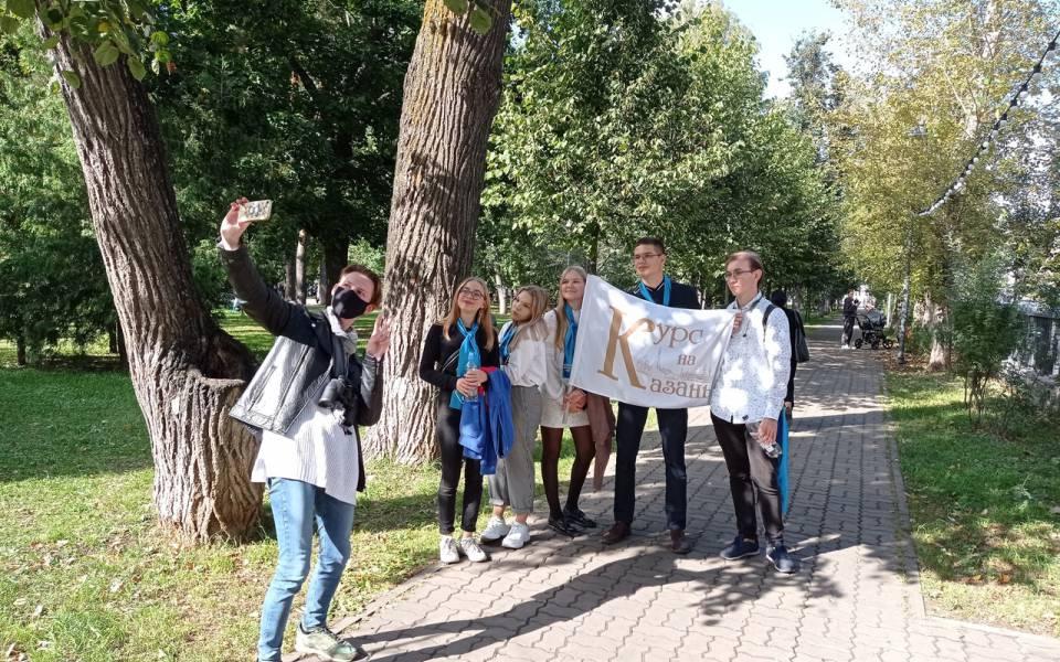 Студенты «ТИСБИ» наквесте «Курс наКазань»