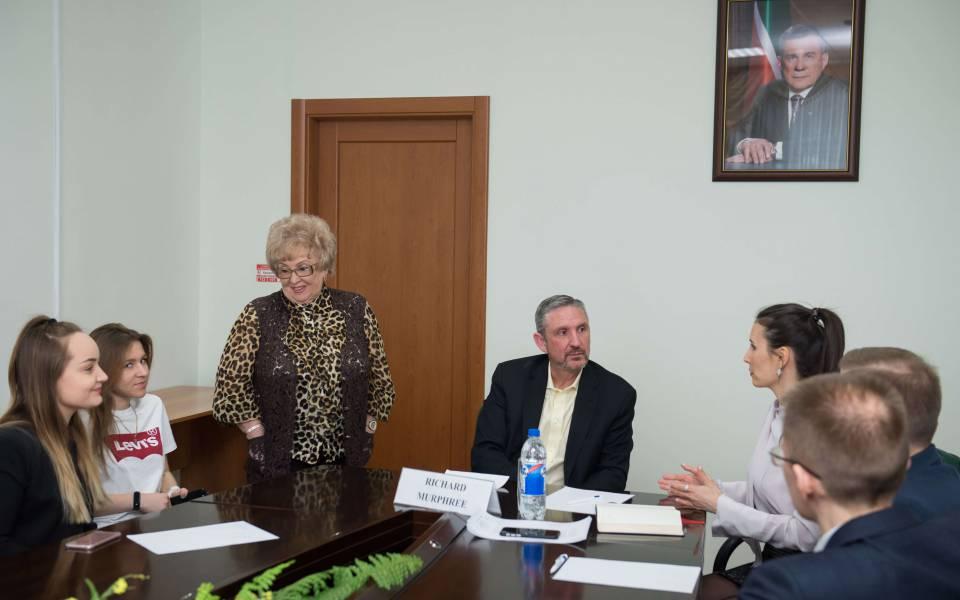 Встреча руководства университетов Потомак и«ТИСБИ» спотенциальными абитуриентами попрограмме двойных дипломов