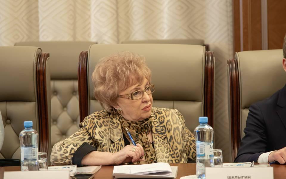 Ректор Университета управления «ТИСБИ» Нэлла Прусс назаседание Комитета
