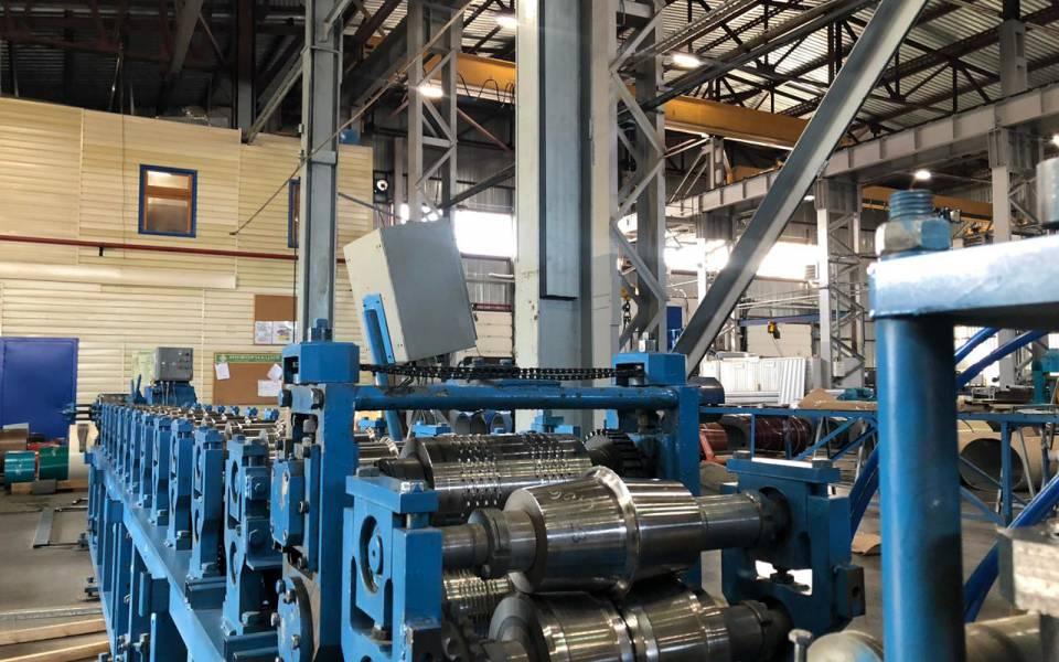 Производственный цех завода «Казанские стальные профили»